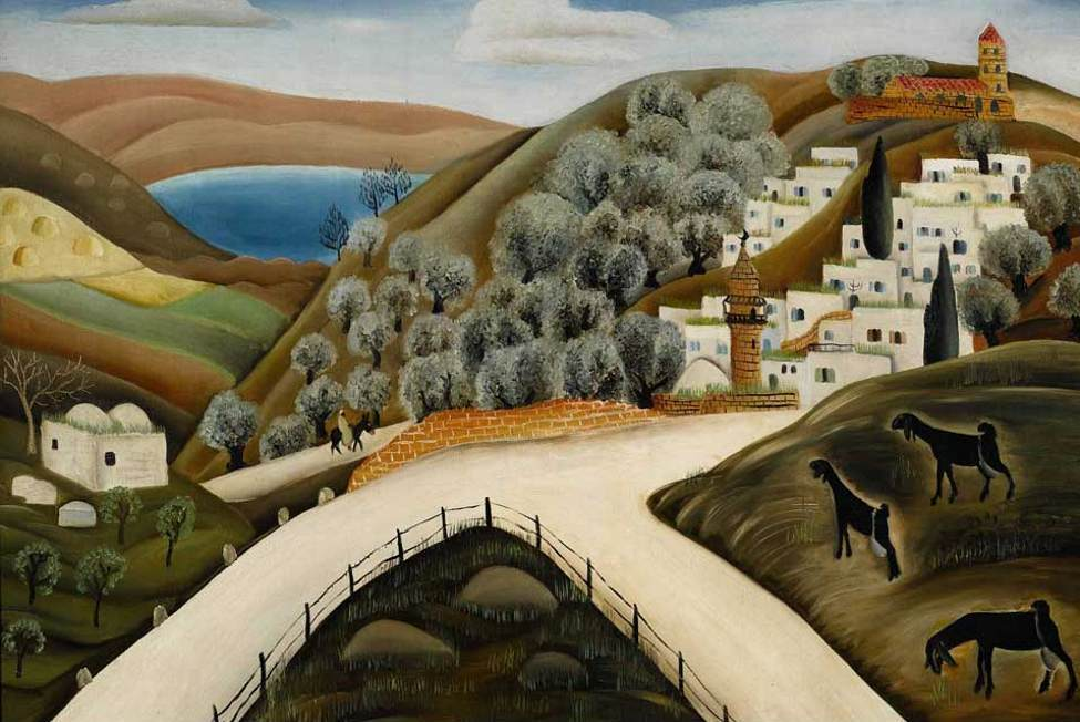 Safed de Reuven Rubin