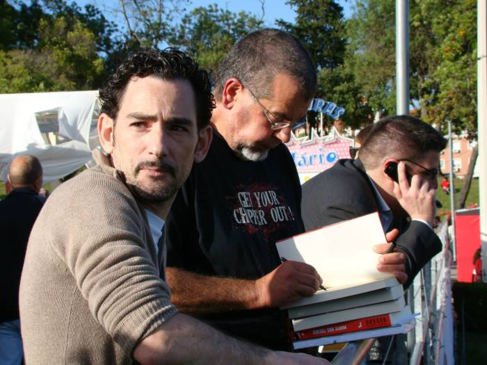 Pedro Garcia Rosado, no evento Livros na estratoblogosfera - FLL2014