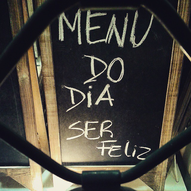 menu do dia