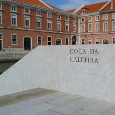 Doca da Caldeira - Ribeira das Naus Lisboa