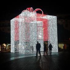 Ainda cheira a Natal no Rossio 4/1/2015