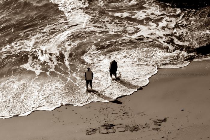 101.  Escrito na areia